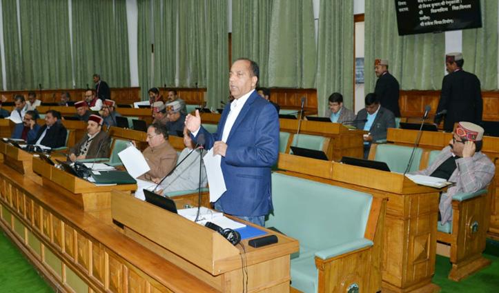 Budget Session : बाहरी लोगों को नौकरी पर तपा सदन, अग्निहोत्री-जयराम के बीच हल्की नोकझोंक