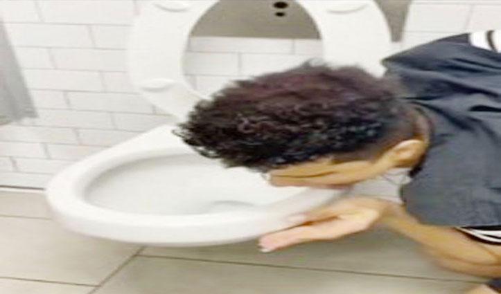 'Corona Challenge' के दौरान टॉयलेट चाटने वाले अमेरिकी शख्स को हुआ कोरोना संक्रमण