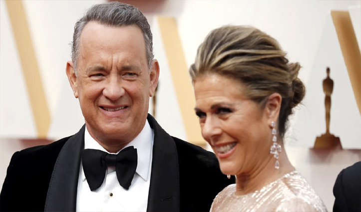 हॉलीवुड एक्टर टॉम हैंक्स और उनकी पत्नी को हुआ कोरोना वायरस संक्रमण