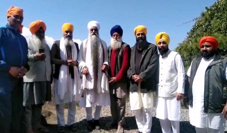 सबसे लंबी दाढ़ी वाले सरवन सिंह पहुंचे Solan, फोटो खिंचवाने को लगी लाइन