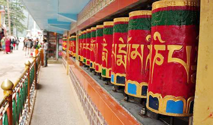 Coronavirus का डर, विदेशियों की भीड़ वाला Dalai Lama Temple कल से बंद
