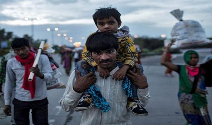 बाइक पर MP से बेटे के साथ 300Km दूर राजस्थान स्थित घर पहुंचा शख्स, दोनों Positive पाए गए
