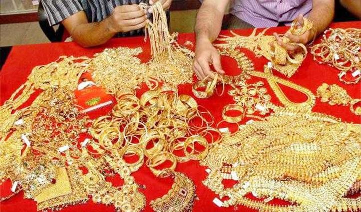 Hamirpur में पकड़ा साढ़े पांच किलो सोना, कीमत 2 करोड़ 14 लाख