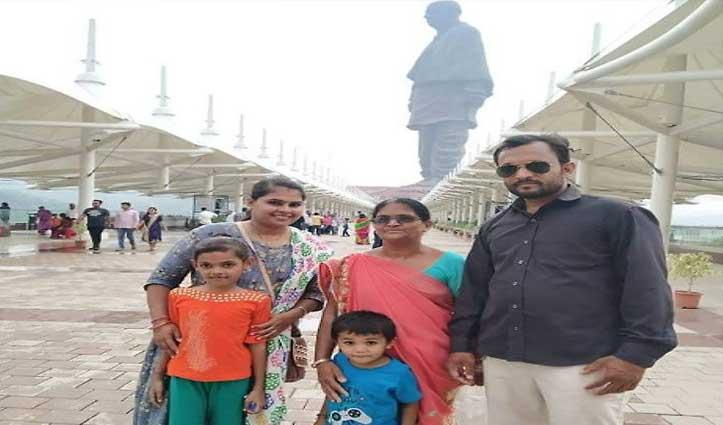 गुजरात में Statue of Unity घूमने के बाद से लापता परिवार के 4 लोगों के मिले शव