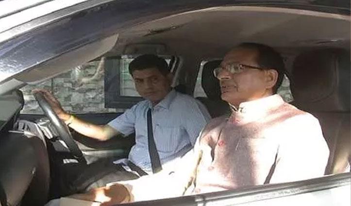 गुरुग्राम पहुंचे शिवराज चौहान, Hotel में ठहरे BJP विधायकों से की मुलाकात