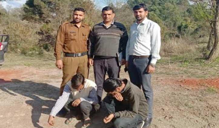 Una, सोलन और बिलासपुर में हेरोइन व चरस के साथ पांच गिरफ्तार