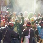 भगवान रघुनाथ की नगरी में छोटी Holi की धूम, खूब उड़ा गुलाल