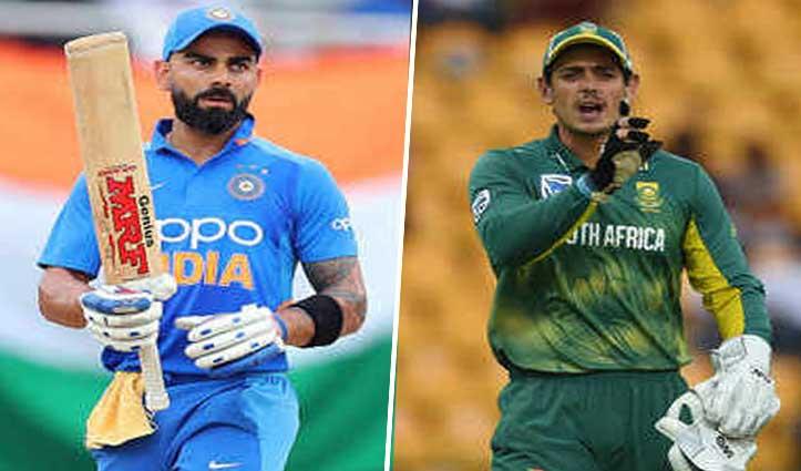 Coronavirus का खतरा: भारत- द. अफ्रीका के बीच होने वाले दोनों वनडे मैच रद्द