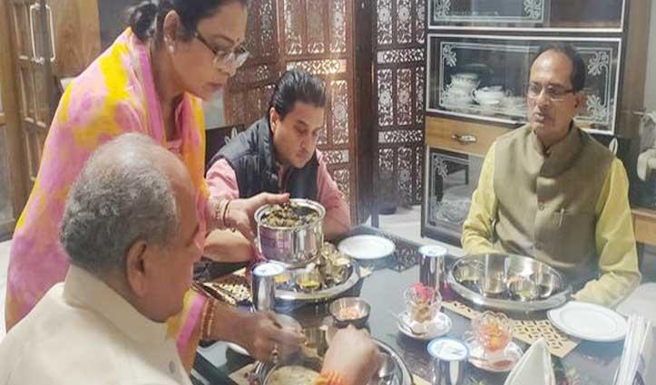 Jyotiraditya ने शिवराज के साथ किया डिनर, आज दाखिल करेंगे Nomination