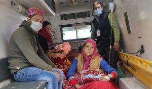 Kullu: 108 एंबुलेंस में महिला ने जुड़वा बच्चों को दिया जन्म, दोनों बेटियां