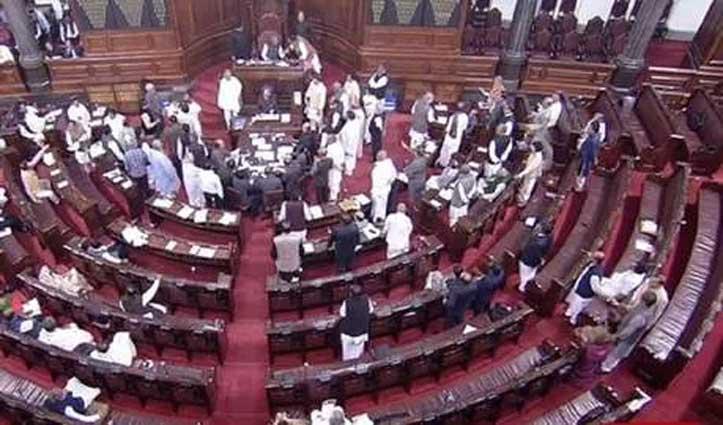Delhi हिंसा के मसले पर BJP-कांग्रेस के सांसदों में धक्का-मुक्की, देखते रहे राहुल-सोनिया