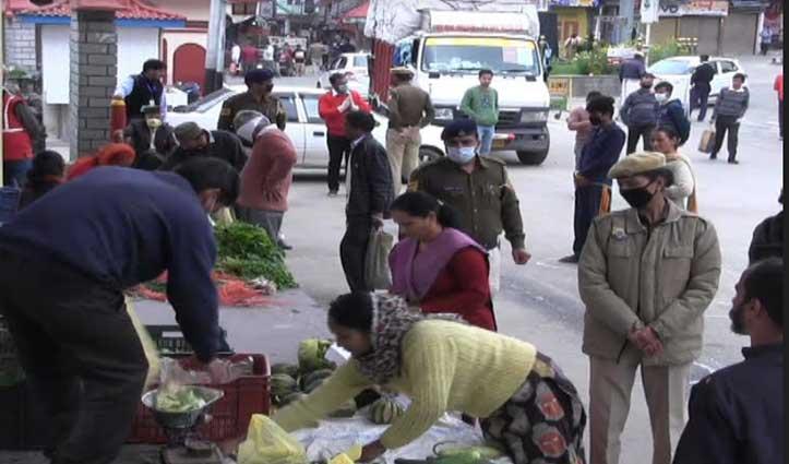 Curfew पर सख्त हुई Mandi पुलिस, पैदल चलने वालों पर भी हुई कार्रवाई