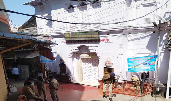 कपाट बंद होने से पहले बज्रेश्वरी मंदिर में उमड़े श्रद्धालु, Main Gate बंद