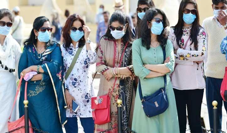भारत में Coronavirus संक्रमित की संख्या हुई 107, 19 मामले और बढ़े