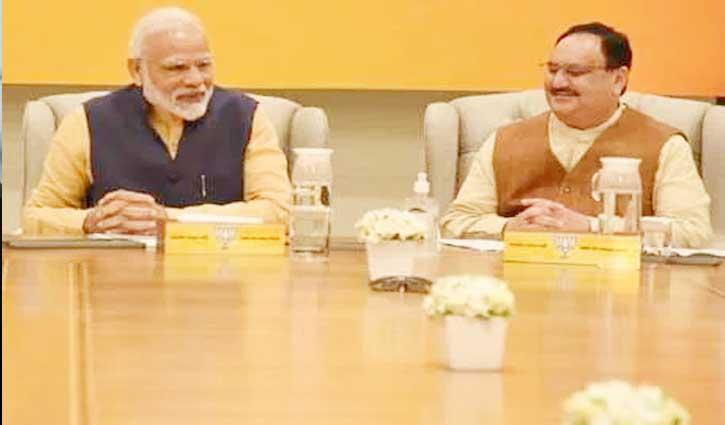 BJP का बड़ा ऐलान : सभी एमएलए और सांसद देंगे एक महीने का मानदेय