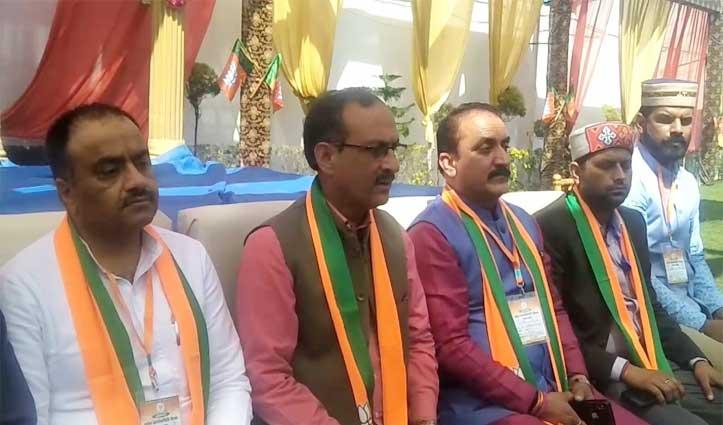 BJP का मिशन रिपीट का दावा, सत्ती बोले-कांग्रेस के पास नहीं बचा है कोई मुद्दा