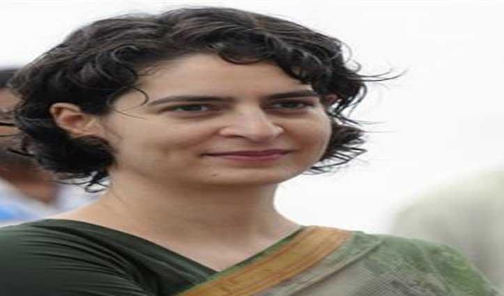 ब्रेकिंगः Holi मनाने के लिए दिल्ली से शिमला पहुंची प्रियंका गांधी