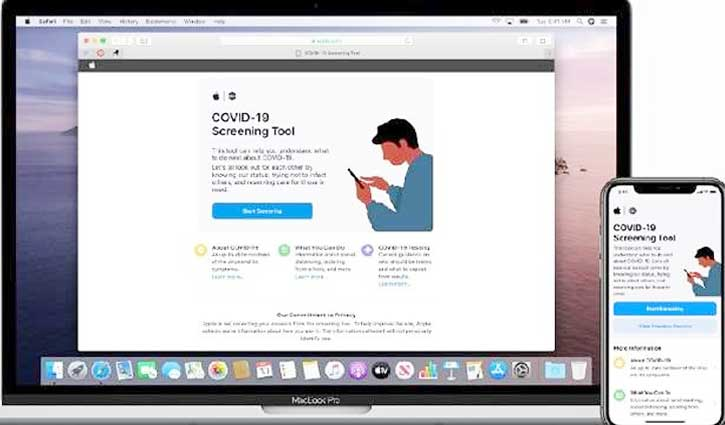 Apple ने लॉन्च किया COVID-19 स्क्रीनिंग वेबसाइट और एप, जानें खासियत