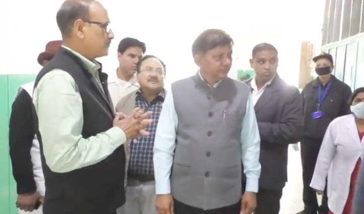 कोरोना से निपटने की व्यवस्था जांचने Hamirpur Medical College पहुंचे राणा