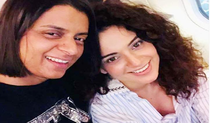 Kangna की बहन का Bollywood को चैलेंज, अकेले फिल्म को हिट करके दिखाए कोई एक्ट्रेस