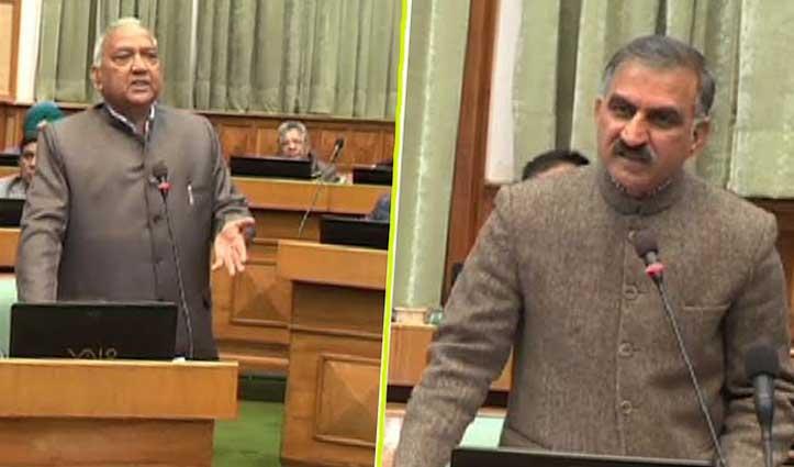 बजट चर्चाः धवाला और सुक्खू के बीच नोंकझोंक, महेंद्र बोले- Congress में हुआ जलील