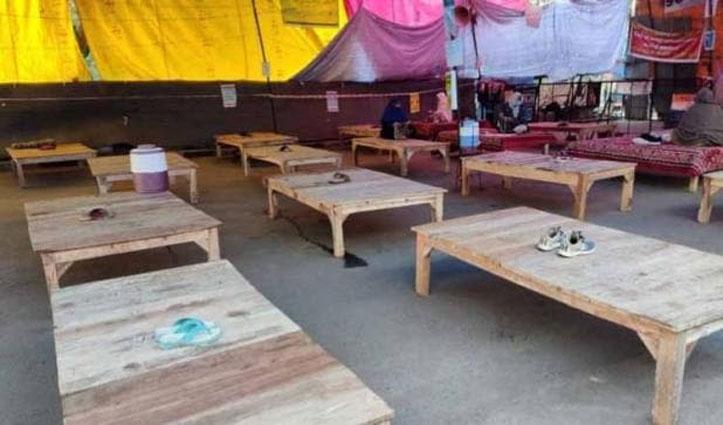 शाहीन बाग प्रोटेस्टर्स ने मानी जनता कर्फ्यू की अपील, पांच महिलाएं दे रही धरना