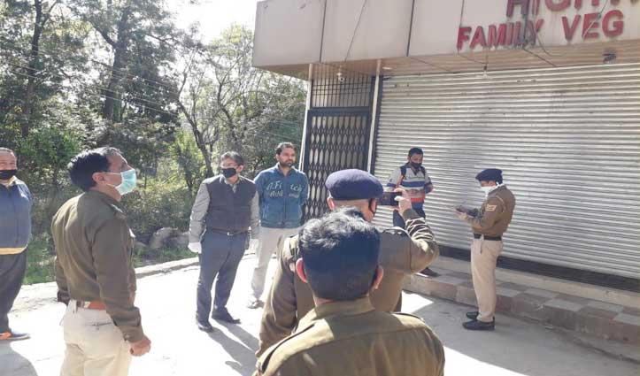 धारा 144 का उल्लंघन, शाहपुर में शराब का ठेका खुला रखने पर FIR