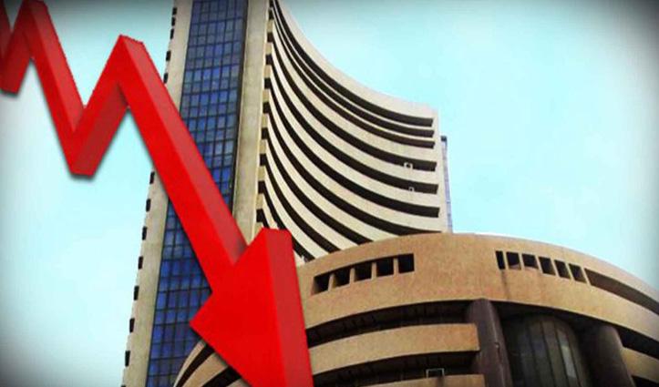 शेयर मार्केट : 2500 अंक लुढ़का सेंसेक्स, निवेशकों के डूबे 9.82 लाख करोड़