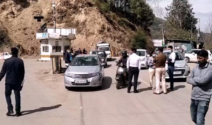 Himachal में कर्फ्यू के दौरान 61 मामले दर्ज, 100 के आसपास गिरफ्तार