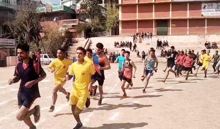 Solan College में खेलकूद प्रतियोगिता, 200 खिलाड़ियों ने दिखाया दम