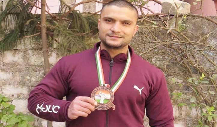 Sundernagar के निशांत ने बॉडी बिल्डिंग में जीता Bronze Medal