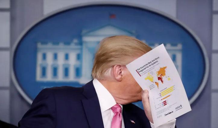 Corona पर बोले Trump: अगर US में मौत का आंकड़ा एक लाख या उससे कम रहा तो बहुत अच्छा होगा