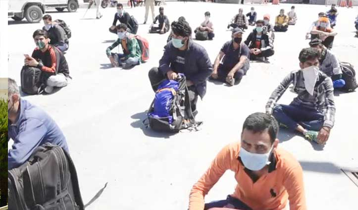 हिमाचलियों की घर वापसी शुरू, Medical Screening के बाद ही मिल रही एंट्री