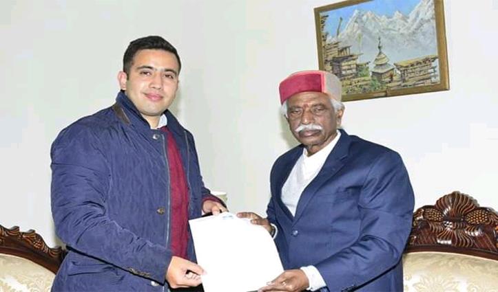 पुलिस कांस्टेबलों की मांगों को लेकर Governor से मिले विक्रमादित्य सिंह