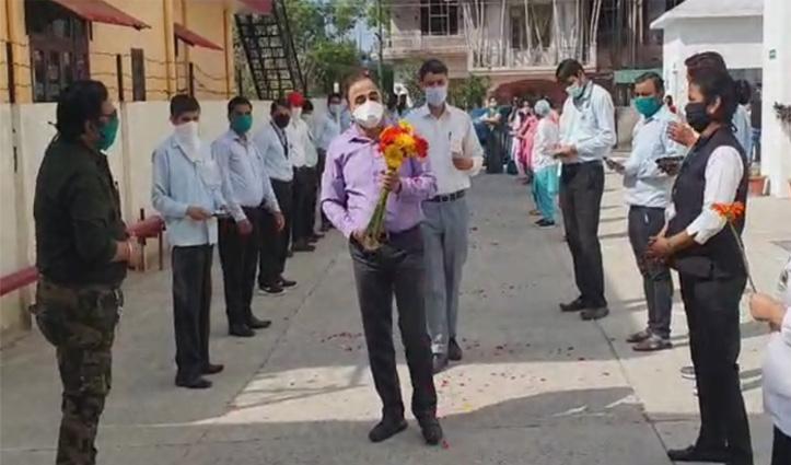 श्री बालाजी अस्पताल कांगड़ा के Dr. Rajesh Sharma लौटे, बोले-नई शुरुआत करते हुए अच्छा काम करेंगे