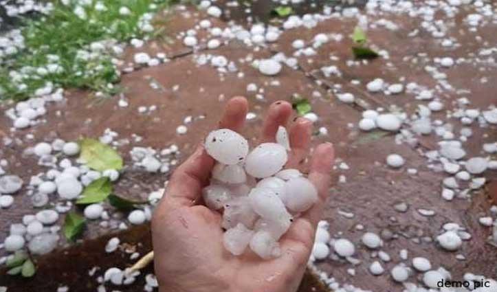 बारिश-ओलावृष्टि से Himachal में 33 करोड़ की चपत, किसानों की फसलों के नुकसान का होगा आकलन