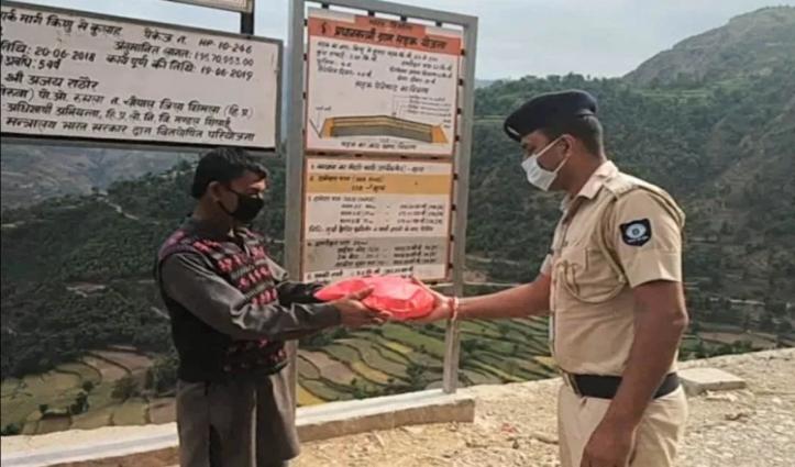 दिल की बीमारी से जूझ रहे रामभज के लिए मसीहा बन कर पहुंची Sirmaur Police