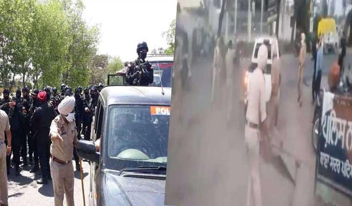 ASI का हाथ काट गुरुद्वारे में छिपे 11 निहंग सिख गिरफ्तार, हथियार और 39 लाख Cash बरामद