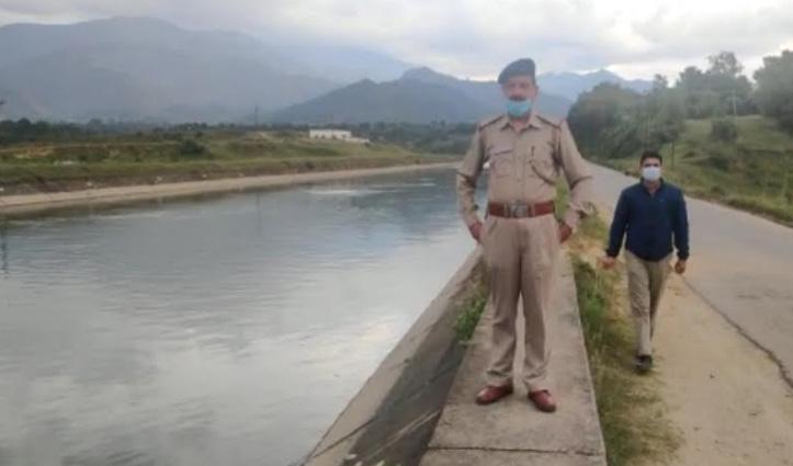 सुंदरनगर की BSL नहर में कूदा बुजुर्ग, पुलिस ने शुरू की शव की तलाश