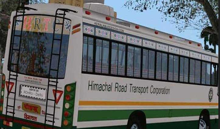 यमुनानगर से इस HRTC की बस में पांवटा पहुंचा था कोरोना पॉजिटिव जमाती