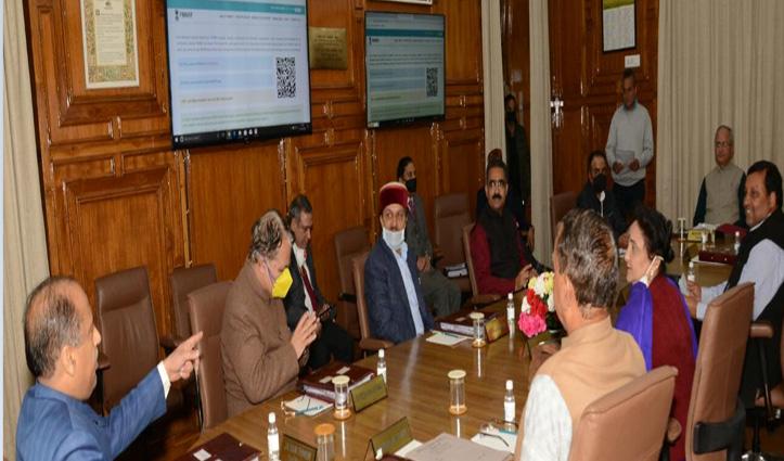 Corona Infected महिला की मौत के बीच Jai Ram Cabinet मीटिंग शुरू, अहम फैसलों पर नजर