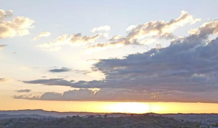 आसमान में जब उमड़े बादल