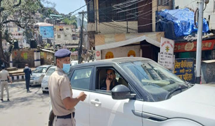 मंडी : कर्फ्यू के बीच गाड़ी लेकर बाहर निकले क्रिकेटर ऋषि धवन, कटा चालान