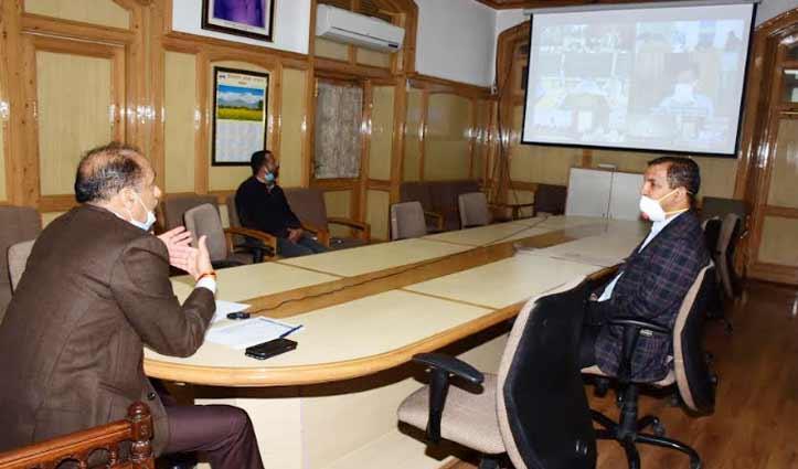 जयराम ने केंद्रीय स्वास्थ्य मंत्री से Himachal के लिए मांगें और वेंटिलेटर
