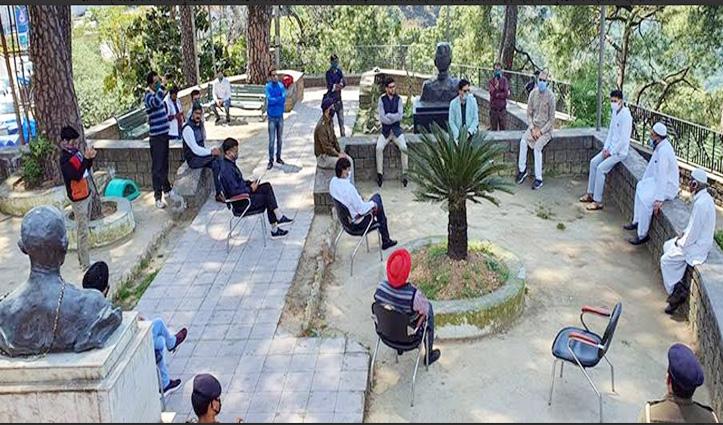 Dharamshala में हुई सर्वधर्म प्रतिनिधियों की बैठक, यह लिया निर्णय
