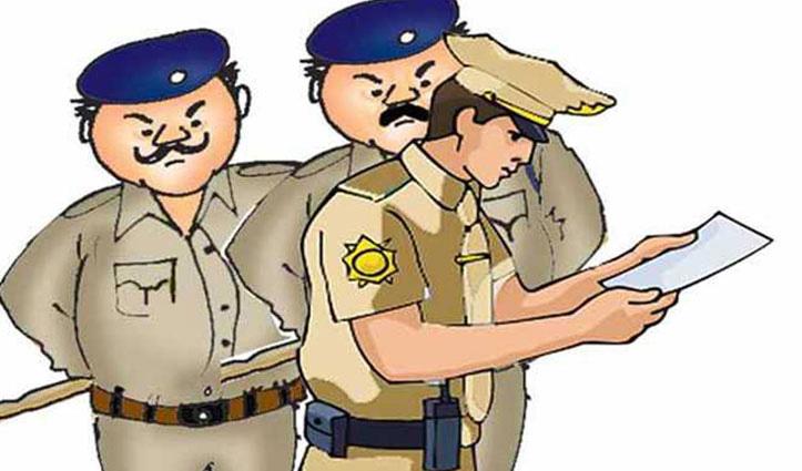 Curfew के बीच नशे में धुत्त होकर चला रहे थे ट्रक, होमगार्ड जवानों ने रोका तो की मारपीट