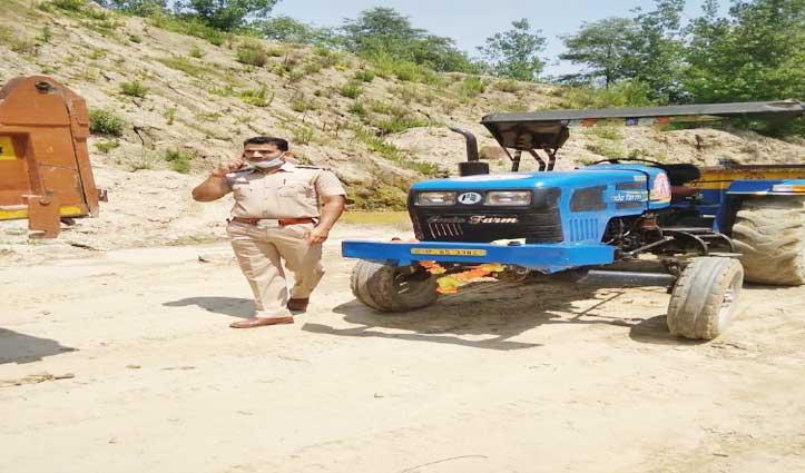 बल्ह में अवैध खनन पर शिकंजा, 4 Tractor, 19 टिप्पर का चालान-3 लाख जुर्माना वसूला