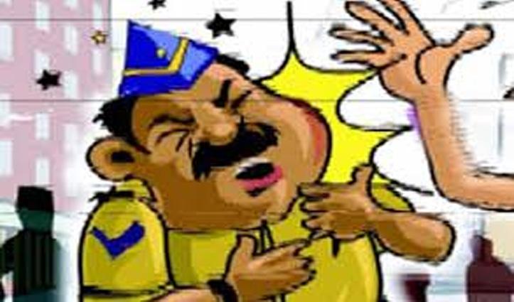 First Hand: कर्फ्यू के बीच Head Constableसे हाथापाई की कोशिश, FIR दर्ज