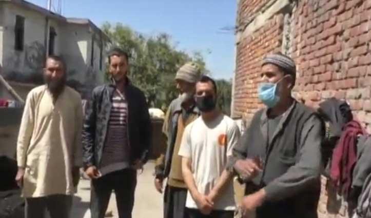Lockdown में घर से दूर कश्मीरी मजदूरों को सता रही परिवार की चिंता, नहीं हो पा रही बात
