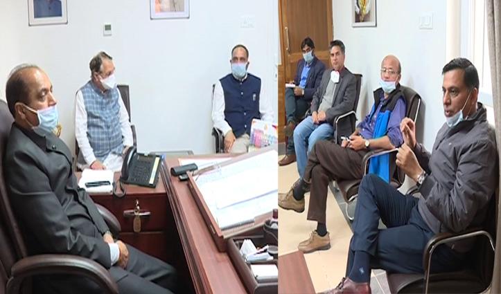 स्कूली बच्चोंको दिक्कत ना आए, सीएम जयराम ने Education Department के उच्चाधिकारियों से की बैठक